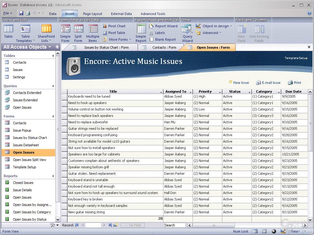 Office12 - Microsoft Access
