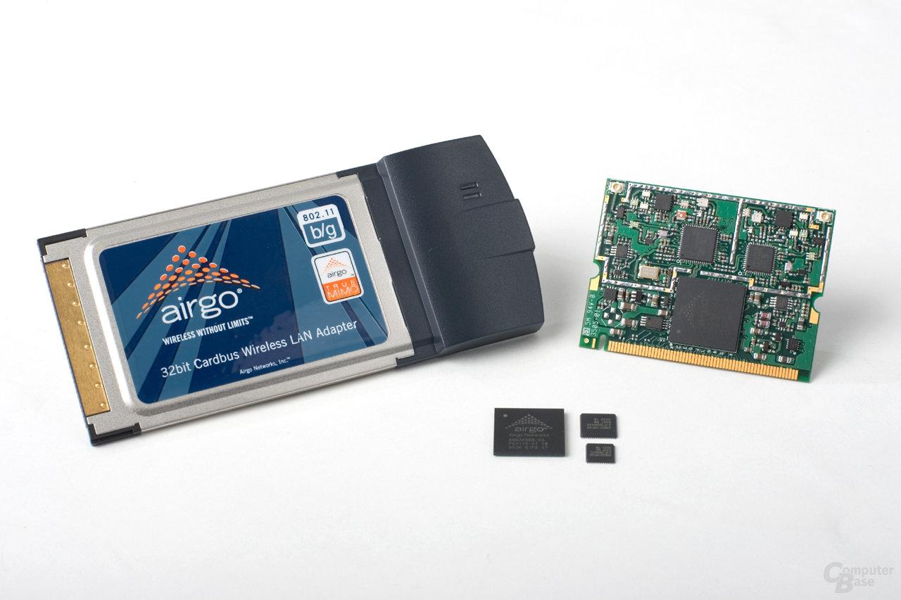 Airgo Networks Chipsätze und Produkte