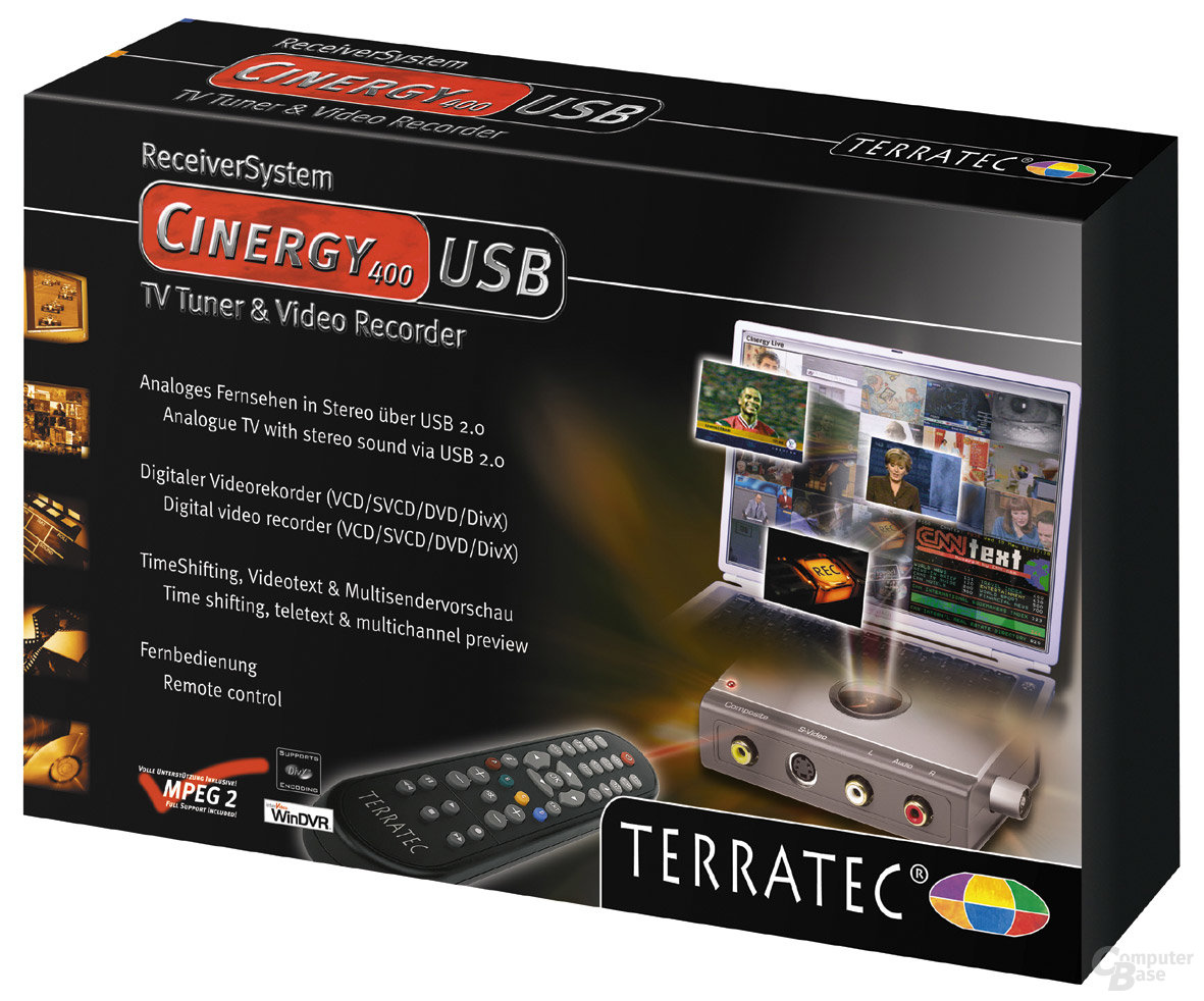 TerraTec Cinergy 400 USB Verpackung