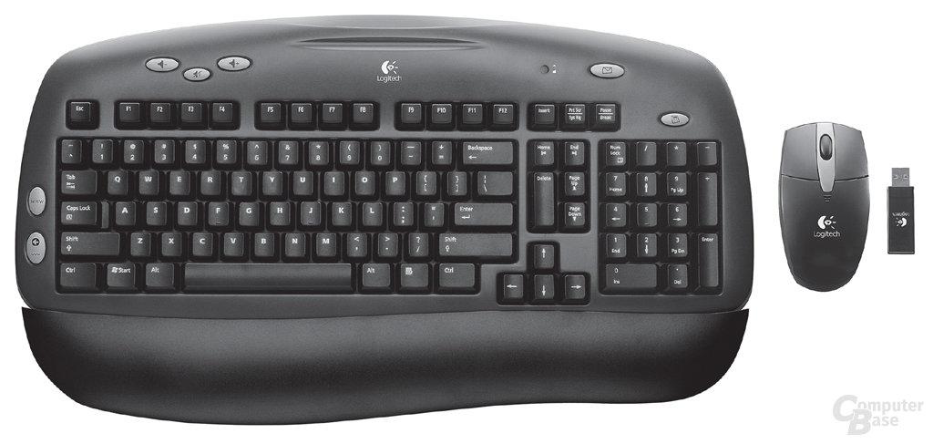 Logitech Office Cordless Desktop