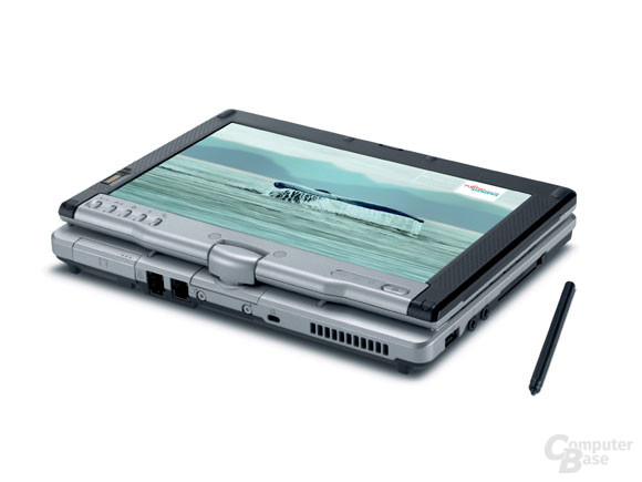 Lifebook P1510 im Tablet-PC-Modus