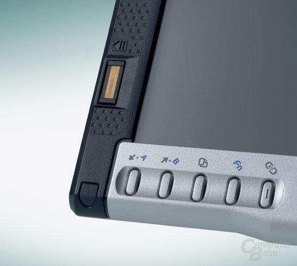 Fingerprint-Sensor des P1510