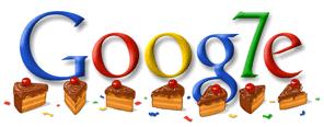 7. Geburtstag Google