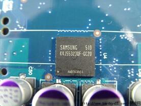 GDDR3-Speicher mit Maximaltakt von 500 MHz