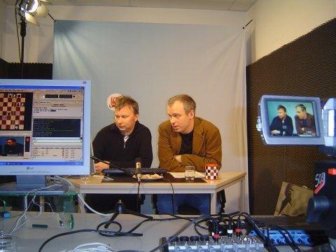André Schulz und Oliver Reeh für TV Chessbase
