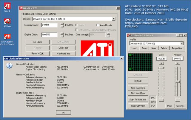 ATi Radeon X1800 XT durchbricht 1 GHz-Barriere