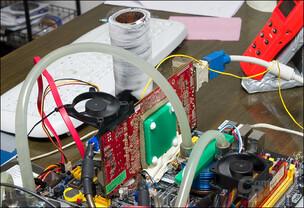 Mit flüssigen Stickstoff hinauf auf 1 GHz