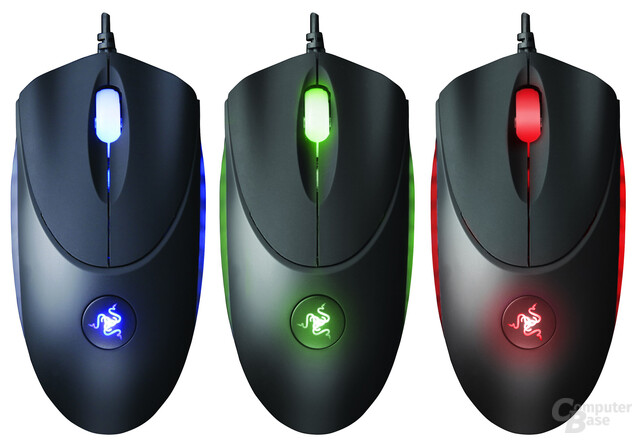 Razer Copperhead Anarchy Red und Chaos Green