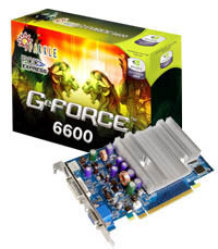 Sparkle GeForce 6600 mit 512 MB