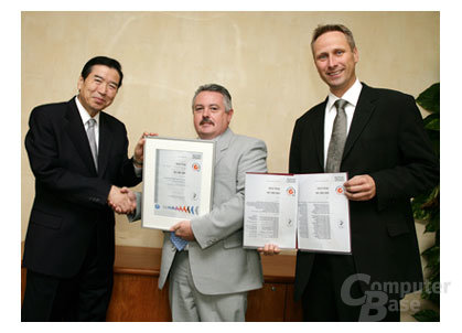 Canon ISO 14001-Zertifikat