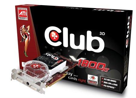 Club 3D X1800 XT 512 MB