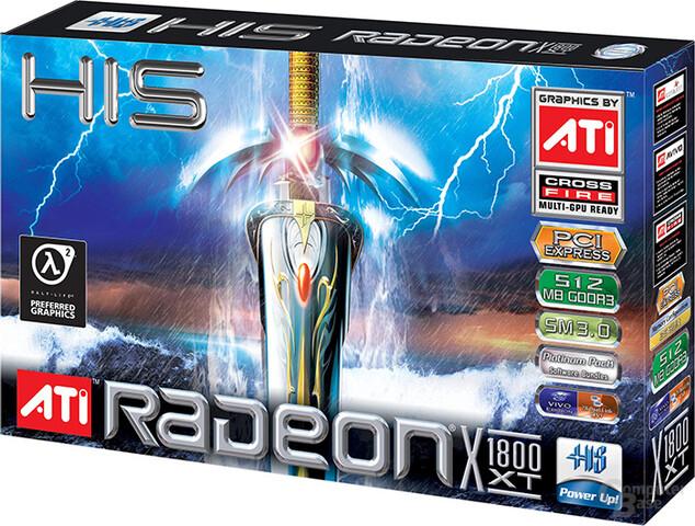 HIS Radeon X1800XT