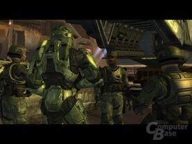 Zwischensequenz von Halo2 bei 480p