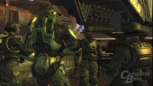 Zwischensequenz von Halo2 bei 720p