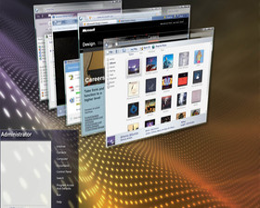 Windows Vista Beta 2-Oberfläche