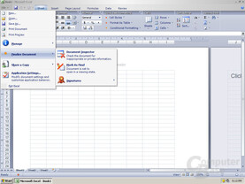 Windows Office Excel 12 Pre-Beta 1 - Quelle: Winsupersite.com