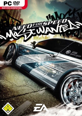 NFS Most Wanted - PC Verpackung