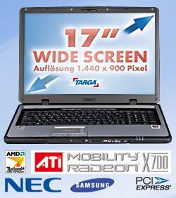 Targa AMD Turion TM 64 MT32
