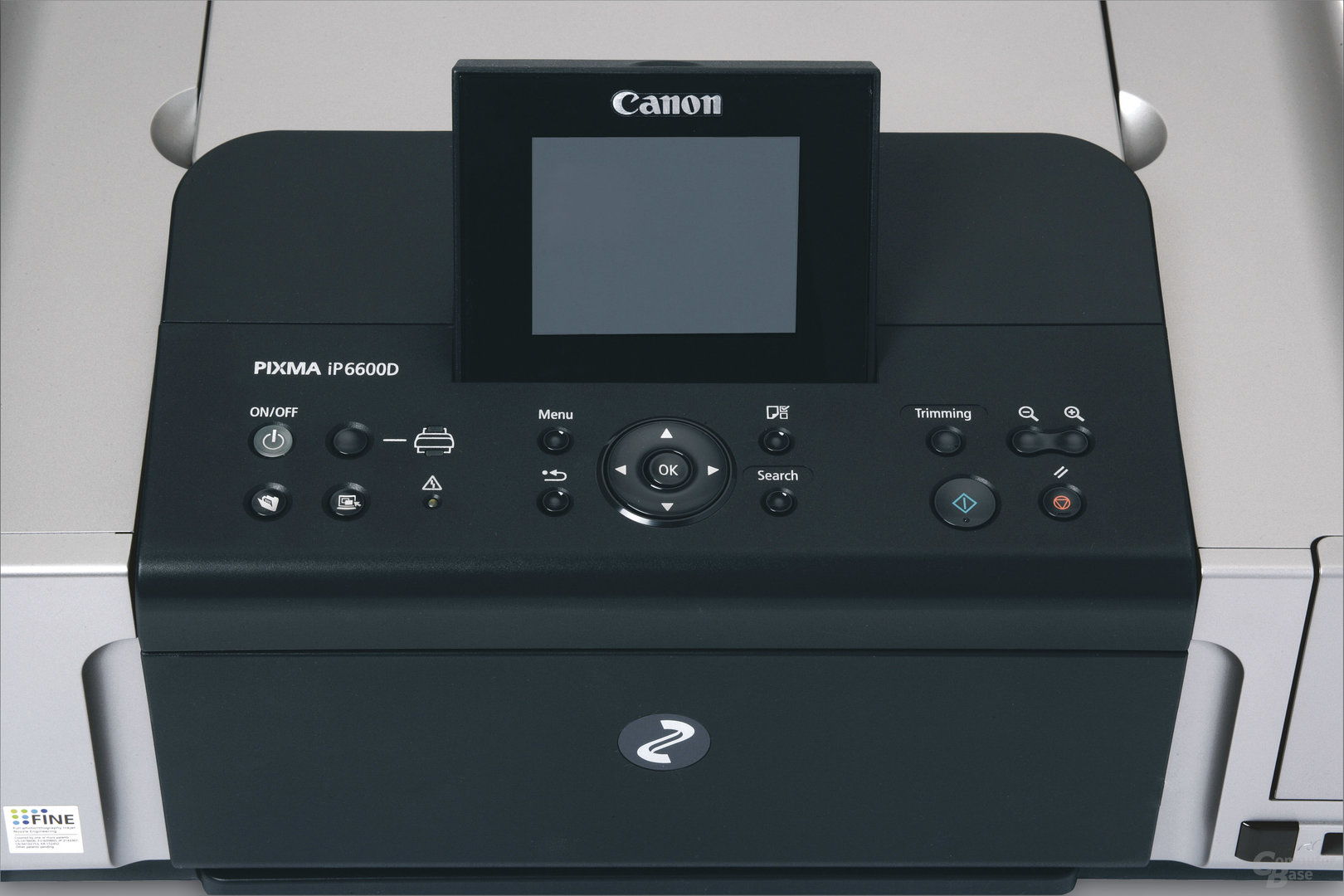 LCD-Panel des Canon Pixma iP6600D