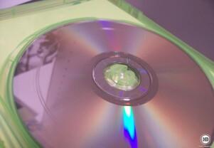 zerkratzte DVD