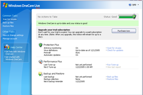 Windows OneCare Live Beta