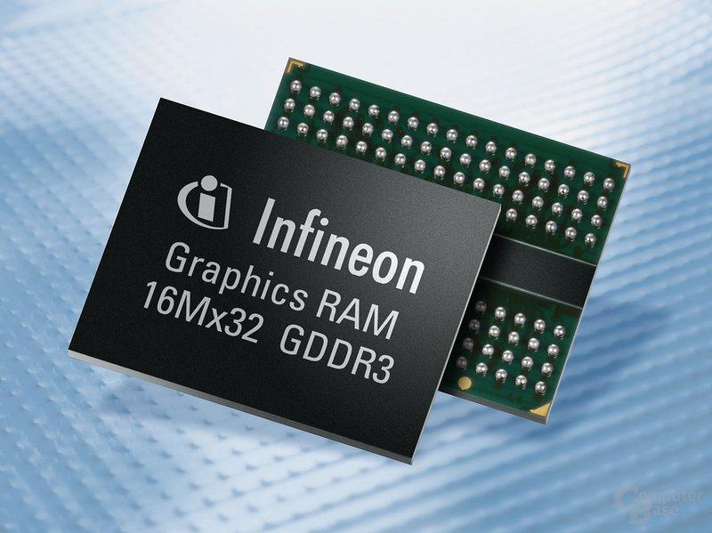 Infineon GDDR3-Speicher