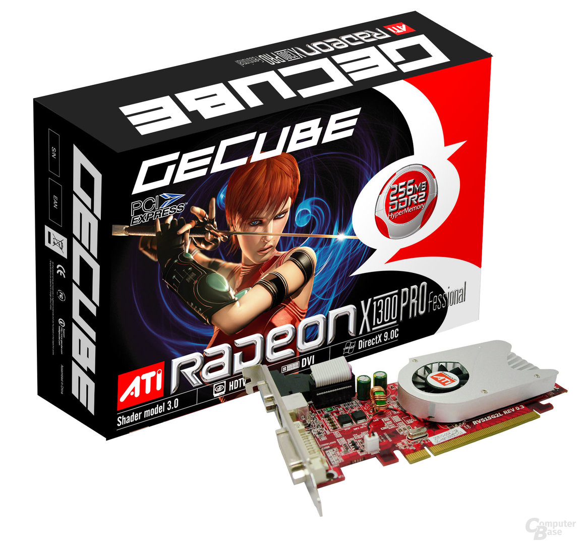 Gecube Radeon X1300 (GC-RX1300GA2-D3)