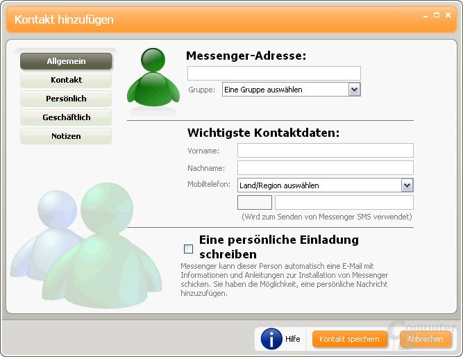 Windows Live Messenger Beta 1