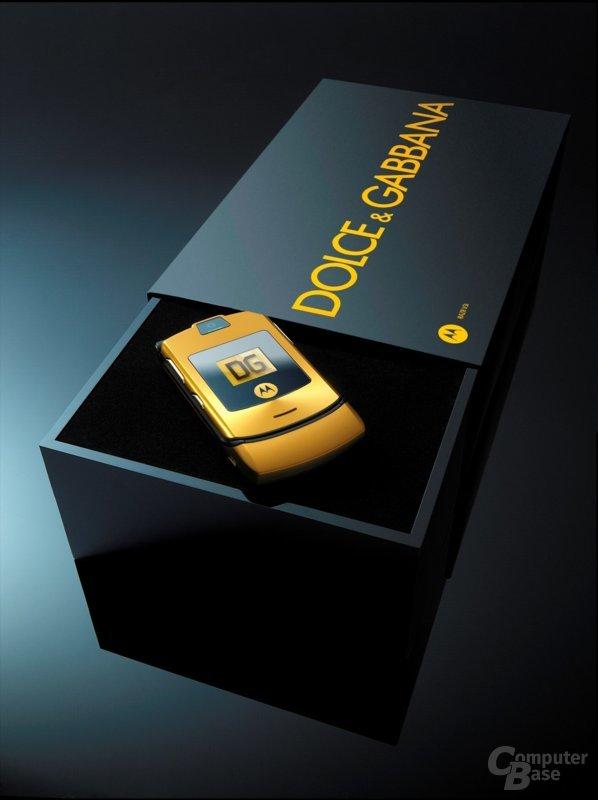 Motorola Liquid Gold Razr V3i