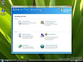 Windows Defender: Oberfläche