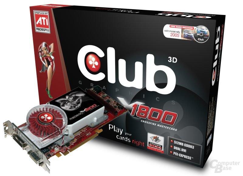 Club 3D X1800 CrossFire Edition