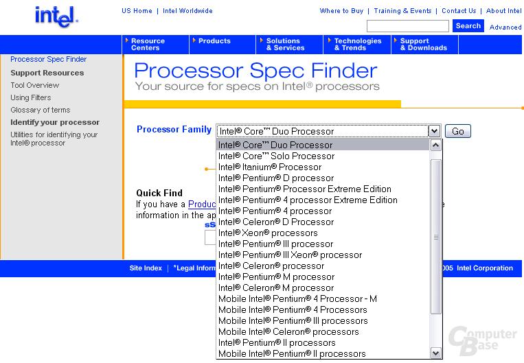 Intel: Core statt Pentium