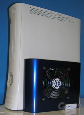 Xbox 360 mit Kühlung von CoolIT