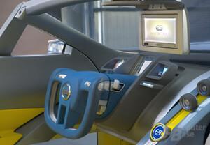 Nissan URGE Concept Car mit Xbox 360