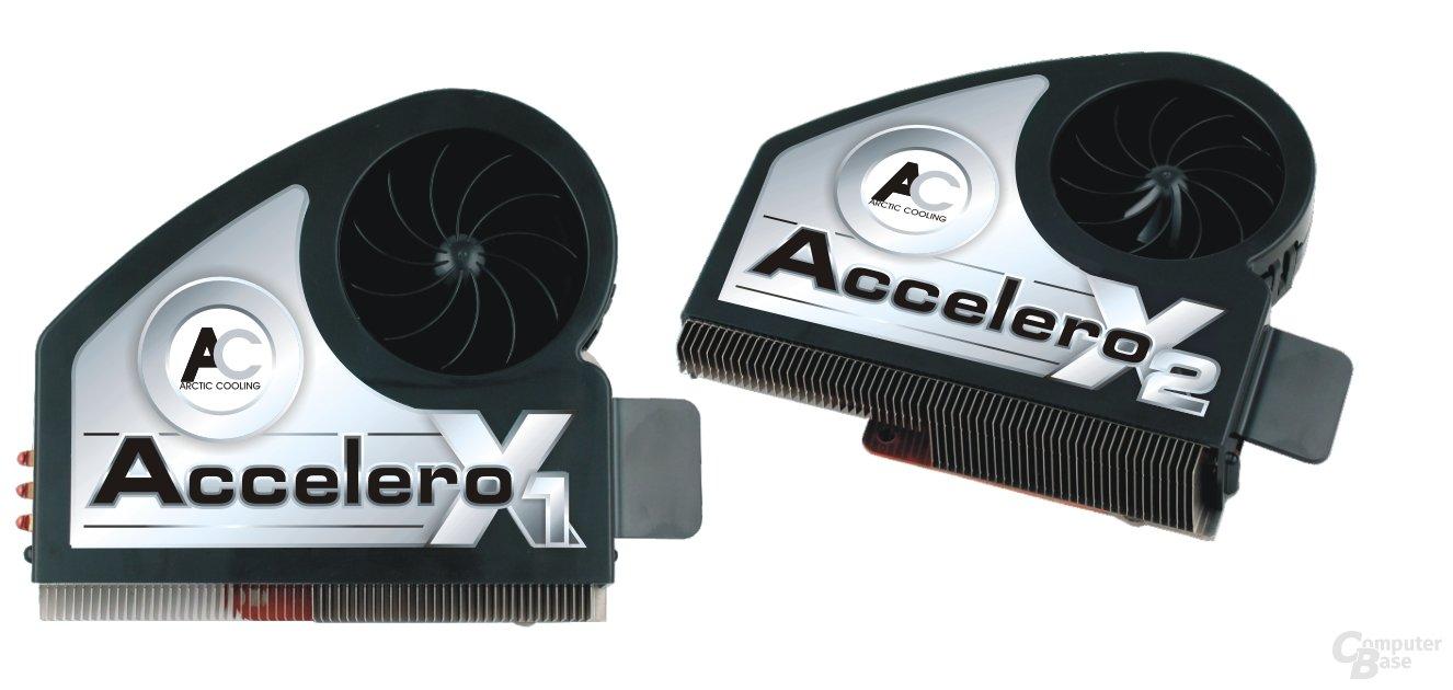 Accelero X1 & X2