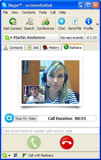 Skype 2.0 unterstützt Video-Konferenzen