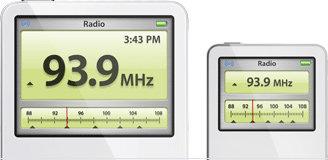 Radiowiedergabe auf iPod