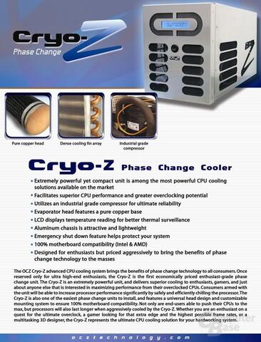 OCZ Cyro-Z Kompressorkühlung