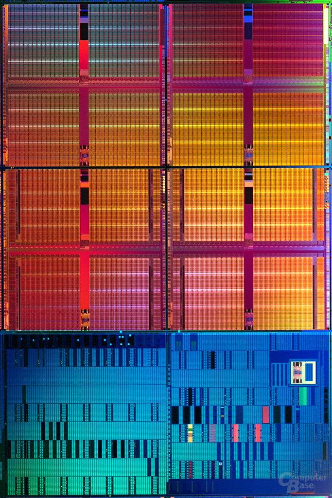 Intels 45nm SRAM-Zelle mit Testlogik - 1 Mrd. Transistoren