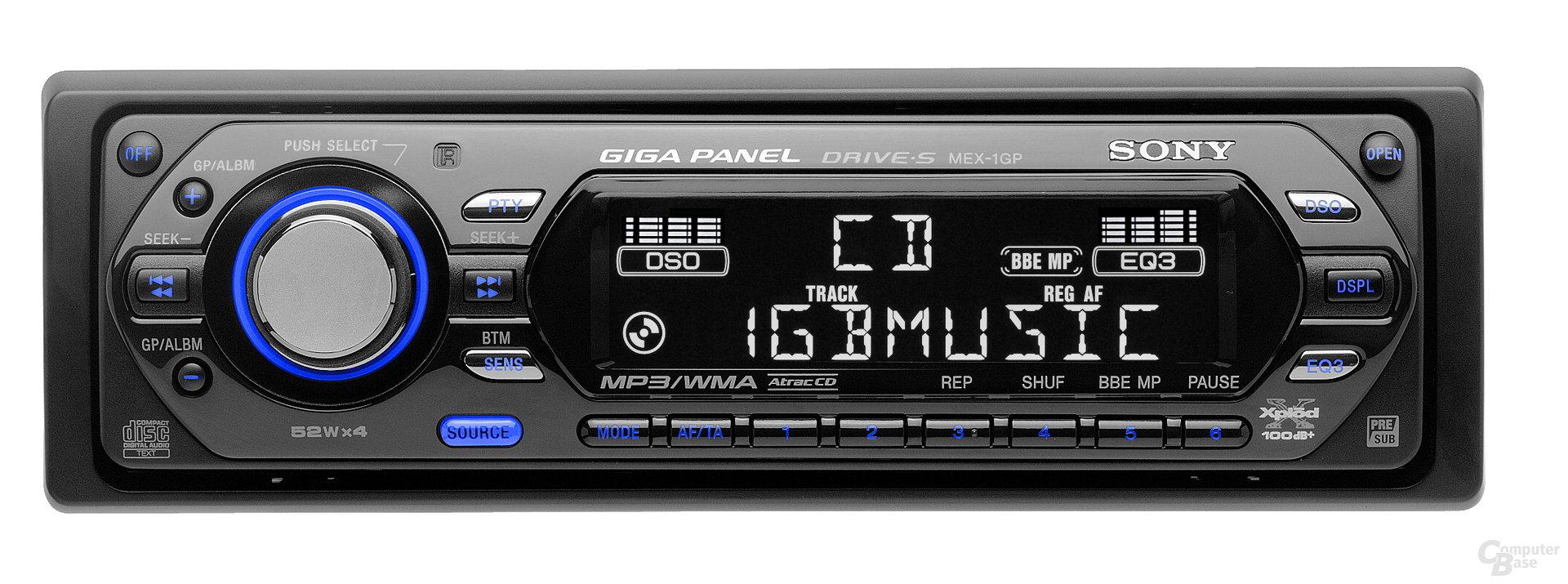 Sonys MEX-1GP