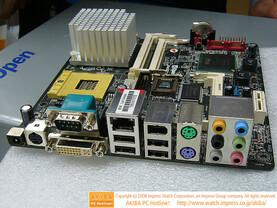 AOpen i945GTt-VFA ATX Leiste