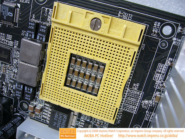 AOpen i945GTt-VFA CPU Sockel