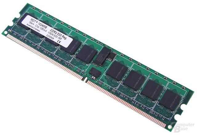 MDT DDR2-533 registered mit 1 GB