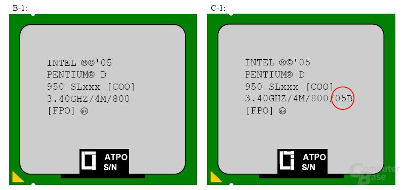 Das C-1-Stepping des Pentium D repariert nicht nur die C1E und EIST