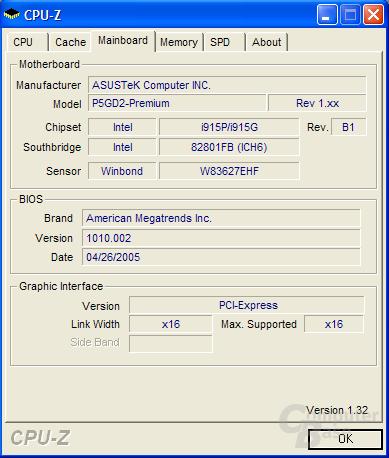CPU-Z 1.32