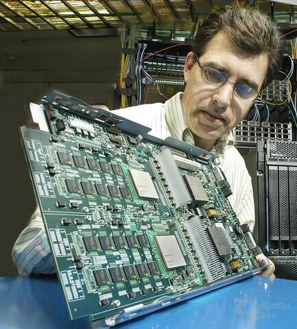 Neun Kerne - IBM Cell Blade