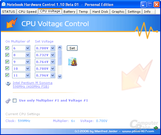 Notebook Hardware Control 1.10 Beta