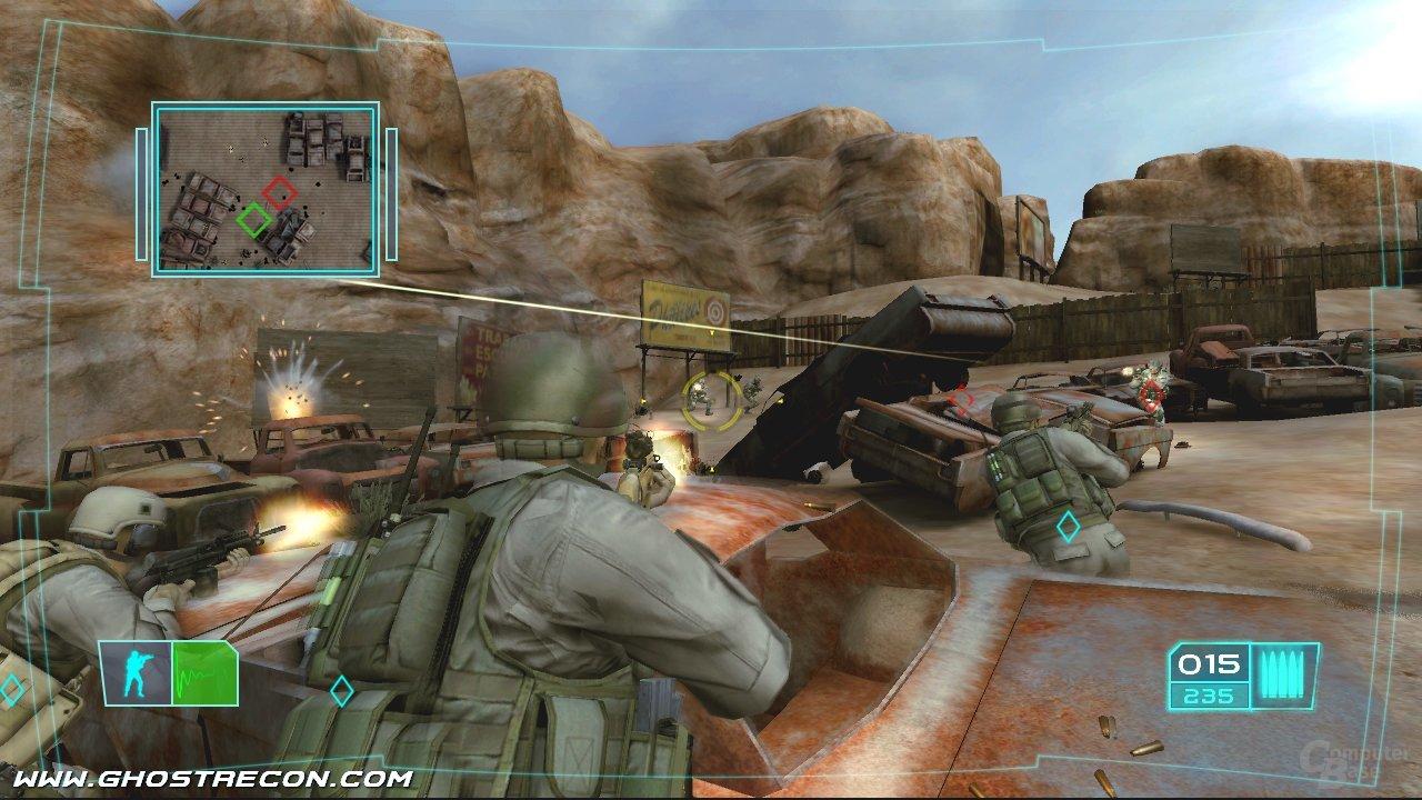 Ghost Recon Advanced Warfighter auf der Xbox 360