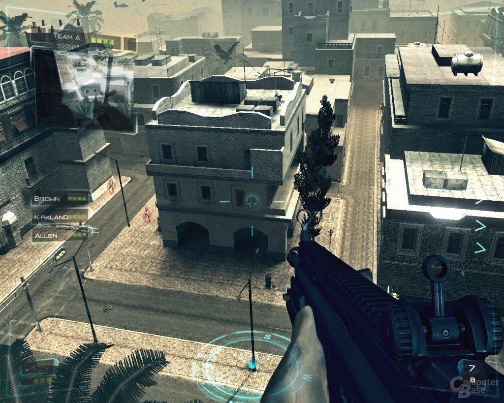 Ghost Recon Advanced Warfighter auf dem PC