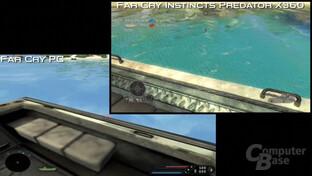 Far Cry Vergleichsvideo